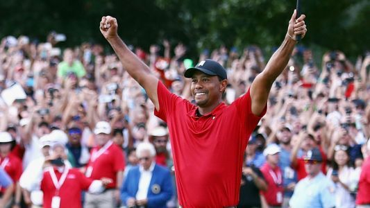 Tiger Woods' Tour Championship win boosts NBC's overnight ratings 206 percent