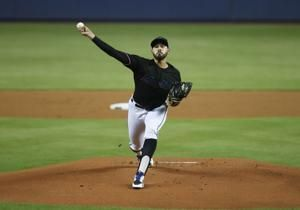 Lopez pitches 7 innings, Marlins win 4-3 over Pirates