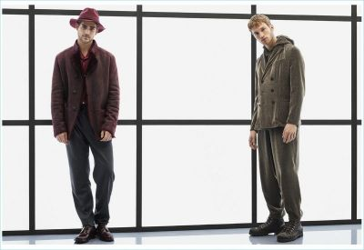 Giorgio Armani Delivers Sophisticated Magic with Fall '17 Collection