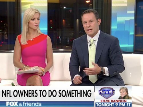 'Fox & Friends' host calls out Trump over NFL comments: 'He made things immeasurably worse by speaking out'