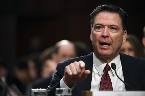 Comey takes a swipe at Trump in plug for new book