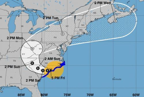 At least 5 dead as Tropical Storm Florence pummels North Carolina