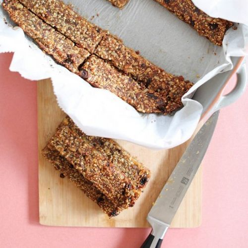 Amaranth Power Bars with Hemp Seeds