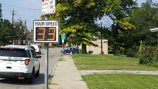 3 speeding tickets issued in one hour on road where student was hit, killed