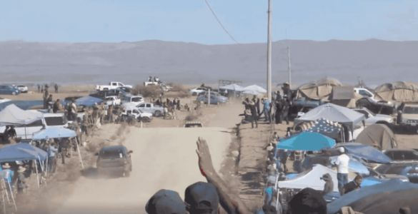 Alexander Rossi Just About Crashed Head-On with a Fan's SUV in the Baja 1000