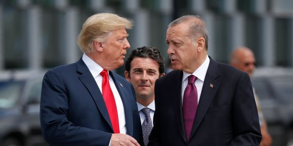 Turkey launches military operation against the Kurds in Syria just days after Trump abandoned them