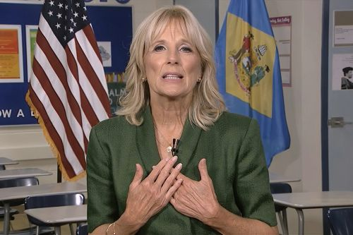 Jill Biden: Trump's attacks on Biden are 'a distraction'