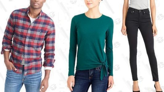J. Crew Factory Has Another 40% Off Site-Wide Sale,And A Clearance Sale
