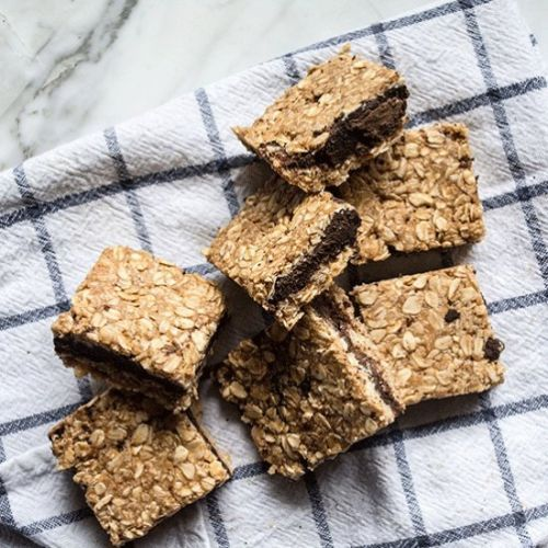 Raw Chocolate Oat Bars
