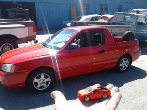 At $3,300, Could This 2000 Hyundai Accent Pick Up Be The Cute Ute Of Your Dreams?