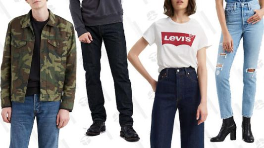 Stock Up on Denim at Levi's Buy One, Get One 50% Off Event