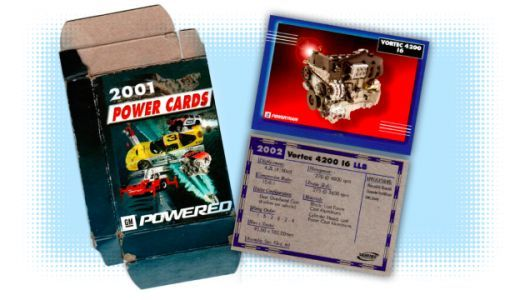 This Old Deck of GM Engine and Transmission Trading Cards is Incredibly Nerdy