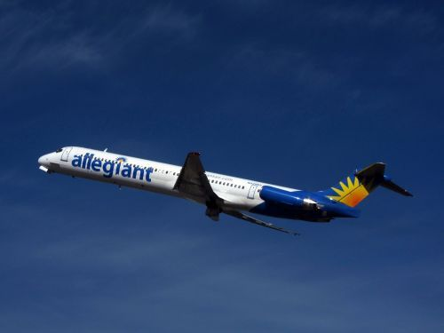 Allegiant flight makes an emergency landing after the crew notices an 'electrical smell'