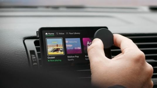 Spotify Wants Its New Car Thing To Live On Your Dashboard