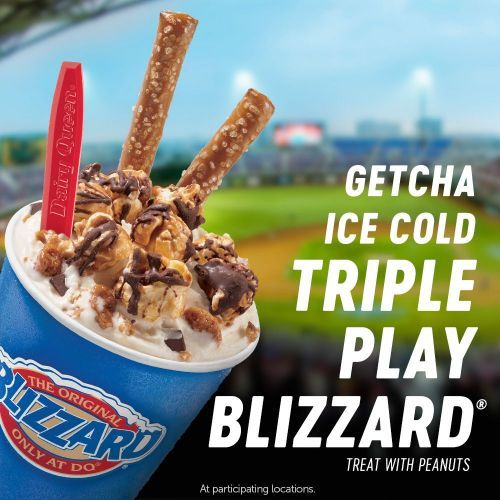 The Dairy Queen System Hits a Homerun with New Baseball Inspired Blizzard Treat in Home Team Cities on Opening Day