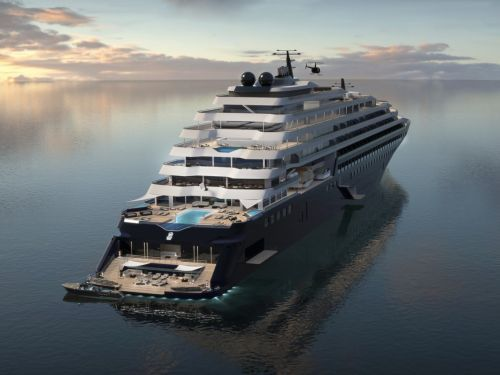 The new Ritz-Carlton luxury cruise ships for the '1% of global travelers' look like incredible super yachts - and you can start booking next month