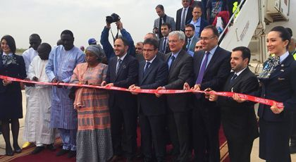 With launching Banjul flights , Turkish Airlines keeps its expansion in Africa