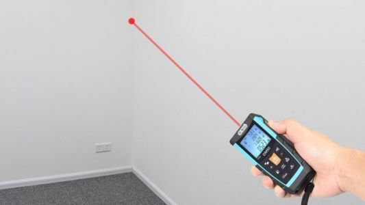 This $24 Laser Distance Measure Does All the Math For You