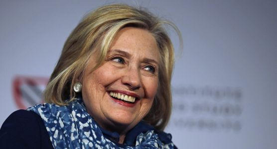 Hillary Clinton jokes that she wouldn't mind being CEO of Facebook