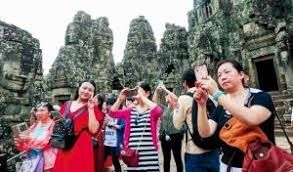 Cambodia welcomes 647,000 Chinese visitors in the first four months of 2018