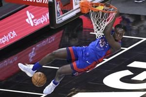 Pistons snap 3-game losing streak with 105-93 win over Magic
