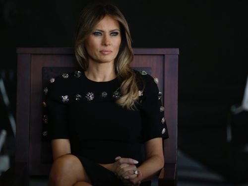 The internet is going crazy over a ridiculous conspiracy theory that Melania Trump has been replaced by a body double