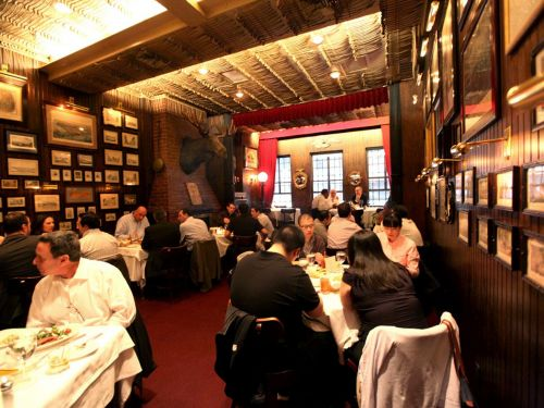 Keens Steakhouse, an Icon of Old New York, Is Removing Historic Racist Images from Its Walls