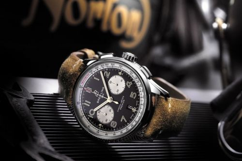 Breitling & Norton Release the Premier Chronograph Watch and Commando 961 Café Racer