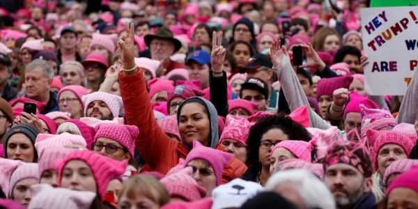 The organization that planned the Women's March is trying to turn the protests into election results in 2018