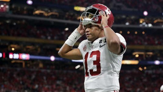 Tua Tagovailoa says he was set to leave Alabama if he had sat out title game