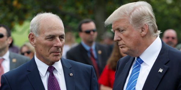 John Kelly has suddenly become the White House's 'agent of chaos' - and it could lead to his downfall