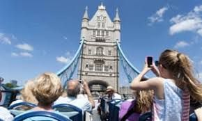 UK visitors boost tourism figures in January