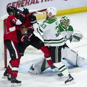 Anderson stops 37 shots as Senators beat Stars 4-1