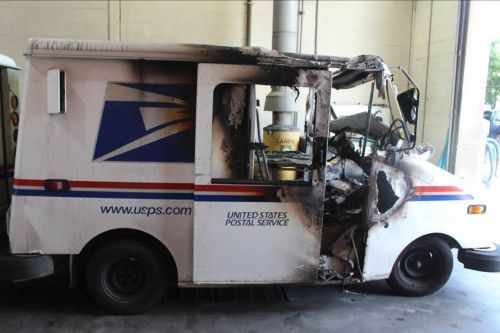Hundreds of US Postal Service delivery trucks are catching fire as they continue to outstay their 24-year life expectancy