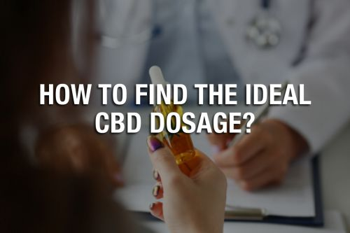 How to Find The Ideal CBD Dosage?