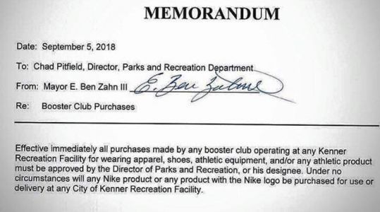 'It divided our city': Louisiana mayor backtracks controversial Nike memo amid criticism