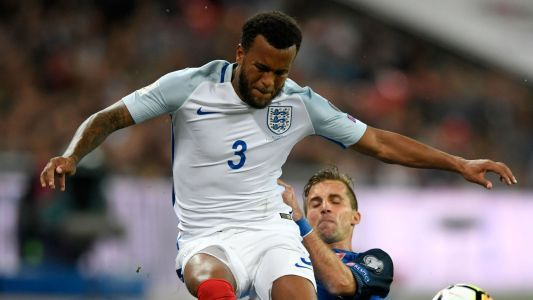 Bertrand out of England friendlies with back injury