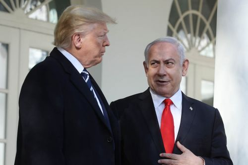 Trump predicts Palestinians will buy into his Middle East peace plan