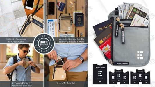 Don't Stick Your Neck Out When Traveling - Protect Your Valuables With This $12 Neck Wallet