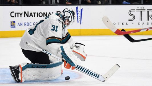 NHL playoffs 2019: Sharks' Martin Jones sets team record in win over Golden Knights