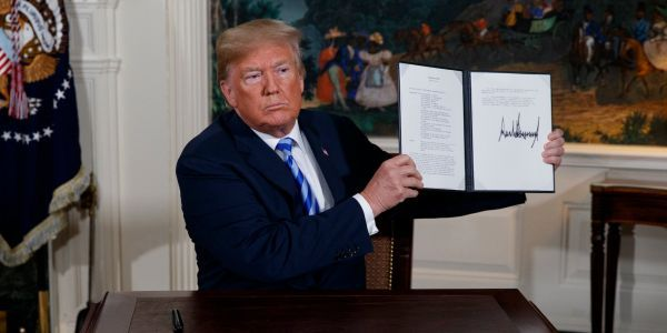 Here's what's in the landmark Iran nuclear deal Trump just pulled the US out of