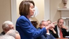 'National Boss' Pelosi Lights Up Twitter After Viral Photo Of Her Standing Up To Trump