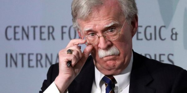 John Bolton says Trump asked for aid to Ukraine to be withheld until investigations into the Bidens were announced, according to Bolton's new book