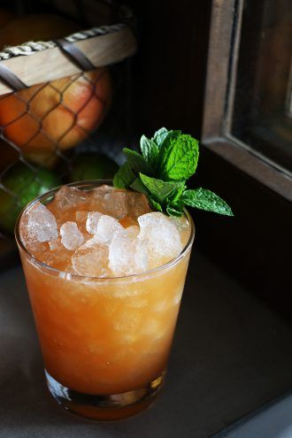 Passion Fruit Cocktail from Pobrecito