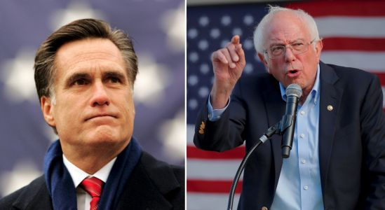 Mitt Romney said everyone in the Senate is 'really nice' except for Bernie Sanders, who 'just kind of scowls'