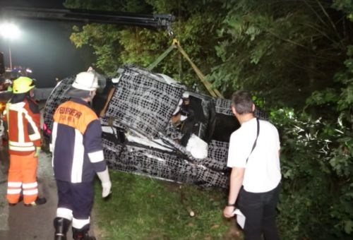 BMW 8 Series Prototype Crashes In Germany, Killing Passenger