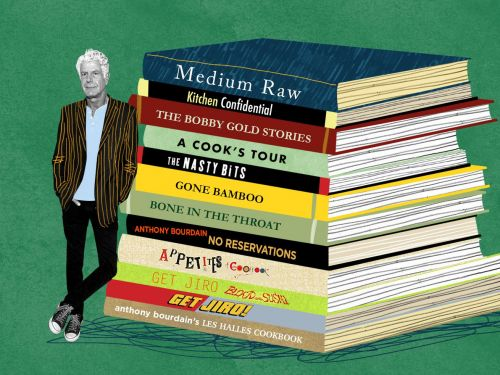 Anthony Bourdain's Literary Legacy in 13 Books