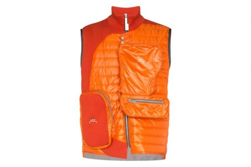 A-COLD-WALL* Updates Padded Asymmetric Vest With Technical Details