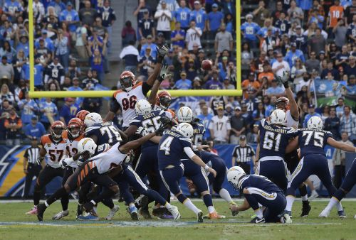 Slump continues: Bengals drop 5 straight in 26-21 loss to Chargers