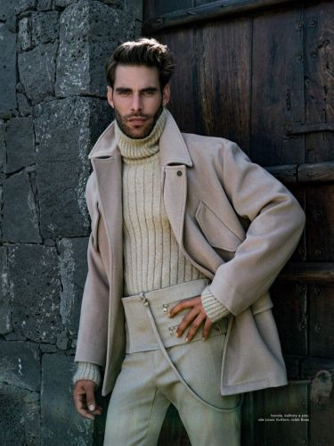 Jon Steps Outdoors for Esquire Czech Cover Shoot